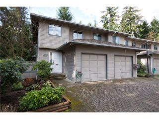 """Photo 1: 3934 INDIAN RIVER Drive in North Vancouver: Indian River Townhouse for sale in """"Highgate Terrace"""" : MLS®# V997469"""