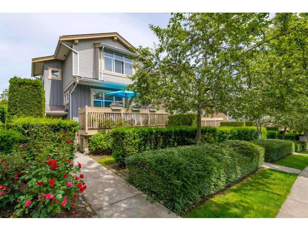 "Main Photo: 61 14959 58 Avenue in Surrey: Sullivan Station Townhouse for sale in ""SKYLANDS"" : MLS®# R2466806"
