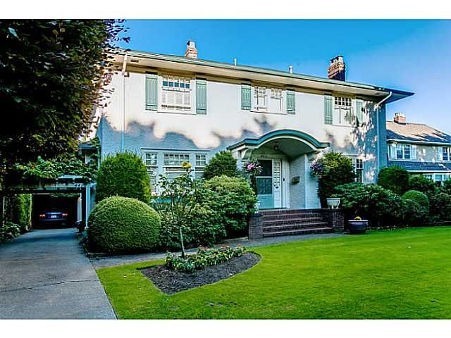 Main Photo: 4410 ANGUS DR in Vancouver: Shaughnessy House for sale (Vancouver West)  : MLS®# V1017815