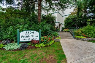 """Photo 1: 301 1190 PACIFIC Street in Coquitlam: North Coquitlam Condo for sale in """"PACIFIC GLEN"""" : MLS®# R2622218"""