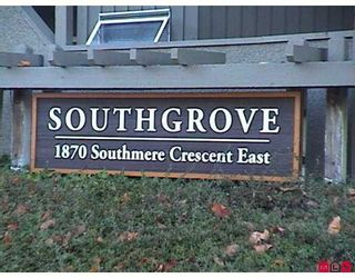 "Photo 1: 1870 E SOUTHMERE Crescent in White Rock: Sunnyside Park Surrey Condo for sale in ""South Grove"" (South Surrey White Rock)  : MLS®# F2623858"