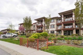 """Photo 1: 105 16447 64 Avenue in Surrey: Cloverdale BC Condo for sale in """"St. Andrew's"""" (Cloverdale)  : MLS®# R2159820"""