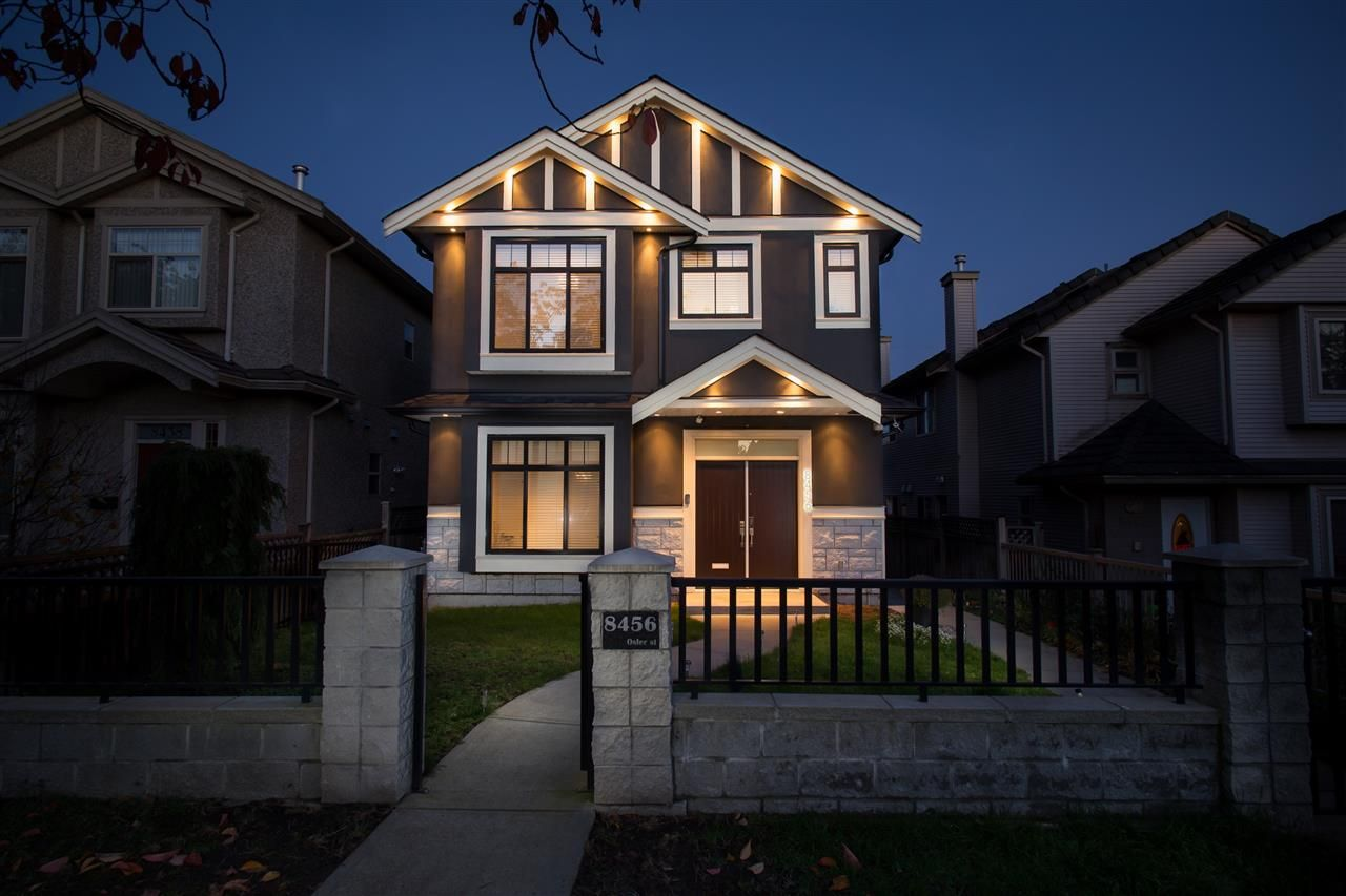 Main Photo: 8456 OSLER STREET in Vancouver: Marpole 1/2 Duplex for sale (Vancouver West)  : MLS®# R2013265