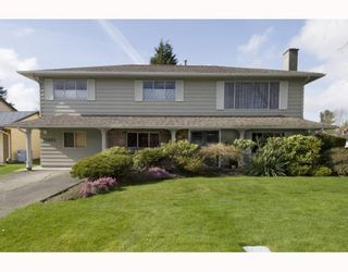 """Photo 1: 11891 OSPREY Drive in Richmond: Westwind House for sale in """"WESTWIND"""" : MLS®# V813817"""