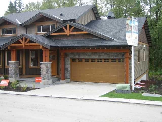 """Main Photo: 85 24185 106B Avenue in Maple Ridge: Albion 1/2 Duplex for sale in """"TRAILS EDGE"""" : MLS®# V816950"""
