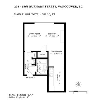 "Photo 20: 203 1565 BURNABY Street in Vancouver: West End VW Condo for sale in ""Seacrest Apartments Limited"" (Vancouver West)  : MLS®# R2450199"