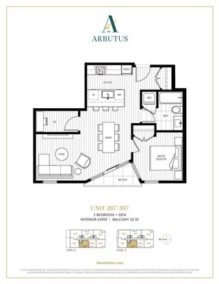 """Photo 3: 207 2888 ARBUTUS Street in Vancouver: Kitsilano Condo for sale in """"THE ARBUTUS"""" (Vancouver West)  : MLS®# R2426936"""