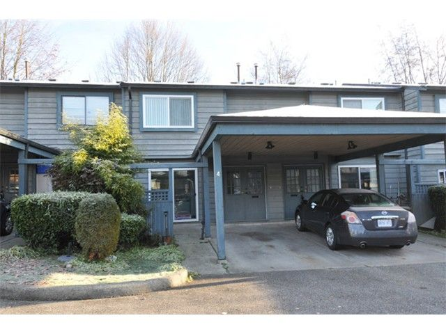Main Photo: 4 1170 LANSDOWNE Drive in Coquitlam: Eagle Ridge CQ Townhouse for sale : MLS®# V1036197