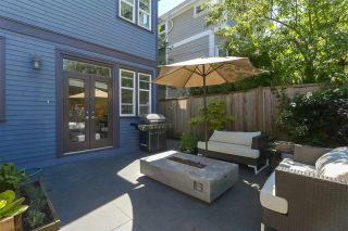 "Photo 11: 4461 WELWYN Street in Vancouver: Victoria VE 1/2 Duplex for sale in ""WELWYN MEWS"" (Vancouver East)  : MLS®# R2379938"
