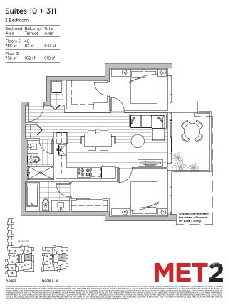 """Photo 4: 1910 6538 NELSON Avenue in Burnaby: Metrotown Condo for sale in """"Met 2"""" (Burnaby South)  : MLS®# R2148663"""