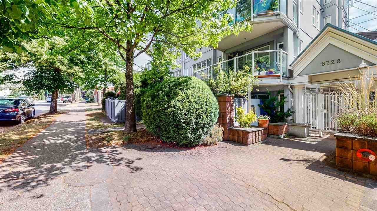"""Main Photo: 302 8728 SW MARINE Drive in Vancouver: Marpole Condo for sale in """"RIVERVIEW COURT"""" (Vancouver West)  : MLS®# R2481664"""