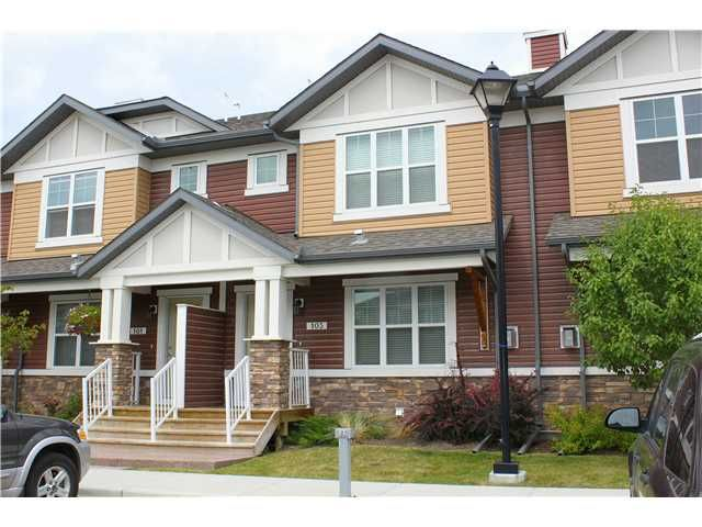 Main Photo: 103 CHAPARRAL VALLEY Gardens SE in : Chaparral Valley Townhouse for sale (Calgary)  : MLS®# C3630291