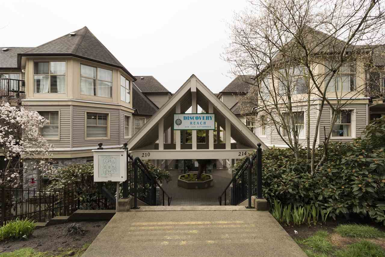 """Main Photo: 515 214 ELEVENTH Street in New Westminster: Uptown NW Condo for sale in """"Discovery Reach"""" : MLS®# R2254696"""