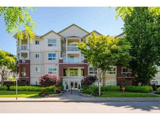 """Photo 1: 207 8068 120A Street in Surrey: Queen Mary Park Surrey Condo for sale in """"MELROSE PLACE"""" : MLS®# R2586574"""