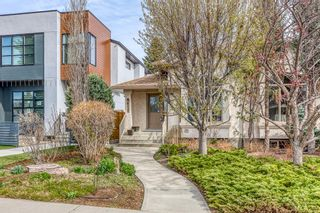 Main Photo: 628 24 Avenue NW in Calgary: Mount Pleasant Semi Detached for sale : MLS®# A1099883