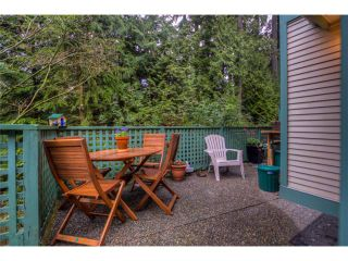 "Photo 9: 5 65 FOXWOOD Drive in Port Moody: Heritage Mountain Townhouse for sale in ""FOREST HILLS"" : MLS®# V1054464"