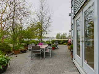 "Photo 1: 108 1880 E KENT AVENUE SOUTH in Vancouver: Fraserview VE Condo for sale in ""PILOT HOUSE AT TUGBOAT LANDING"" (Vancouver East)  : MLS®# R2057021"