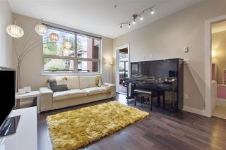 """Photo 1: 209 1177 MARINE Drive in Vancouver: Norgate Condo for sale in """"THE DRIVE 2 BY ONNI"""" (North Vancouver)  : MLS®# R2570831"""