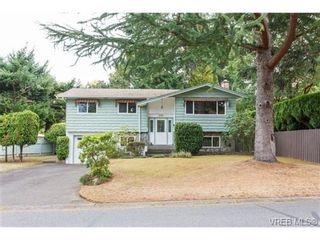Photo 1: 1596 Longacre Dr in VICTORIA: SE Gordon Head House for sale (Saanich East)  : MLS®# 741988
