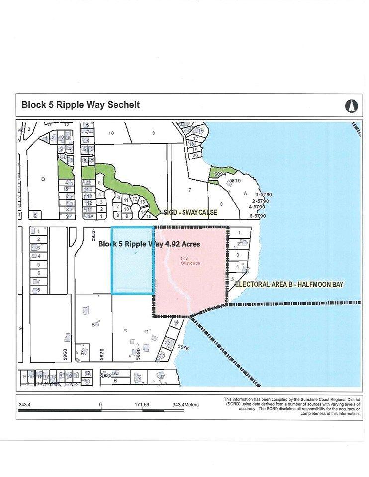 Main Photo: BLOCK 5 RIPPLE Way in Sechelt: Sechelt District Land for sale (Sunshine Coast)  : MLS®# R2476650