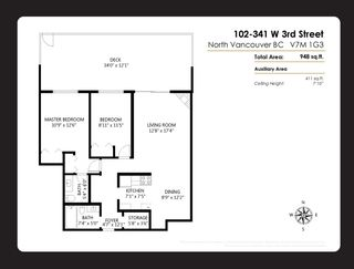 """Photo 19: 102 341 W 3RD Street in North Vancouver: Lower Lonsdale Condo for sale in """"Lisa Place"""" : MLS®# R2406775"""