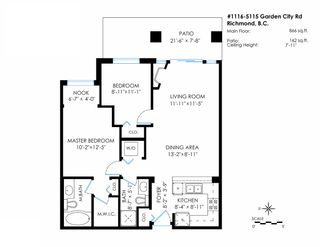 """Photo 16: 1116 5115 GARDEN CITY Road in Richmond: Brighouse Condo for sale in """"LION'S PARK by POLYGON"""" : MLS®# R2013152"""