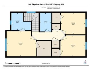 Photo 28: 246 Skyview Ranch Boulevard NE in Calgary: Skyview Ranch Semi Detached for sale : MLS®# A1052771