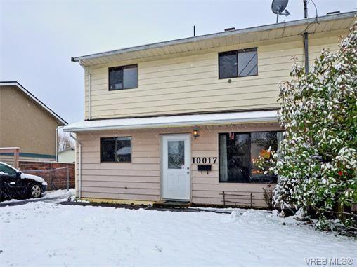 Main Photo: 10017 Siddall Rd in SIDNEY: Si Sidney North-East Half Duplex for sale (Sidney)  : MLS®# 750211