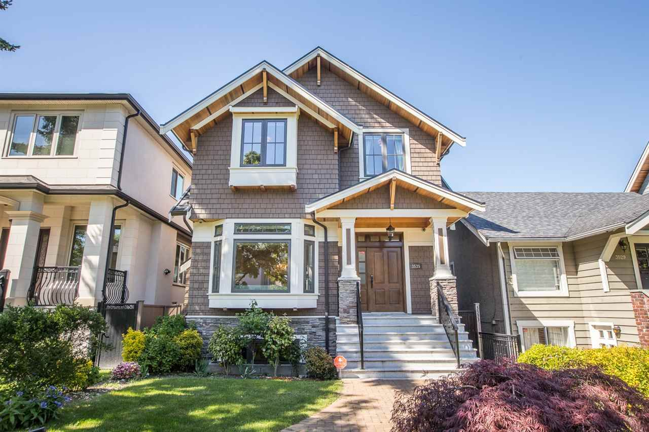 "Main Photo: 3535 W 23RD Avenue in Vancouver: Dunbar House for sale in ""DUNBAR"" (Vancouver West)  : MLS®# R2369247"