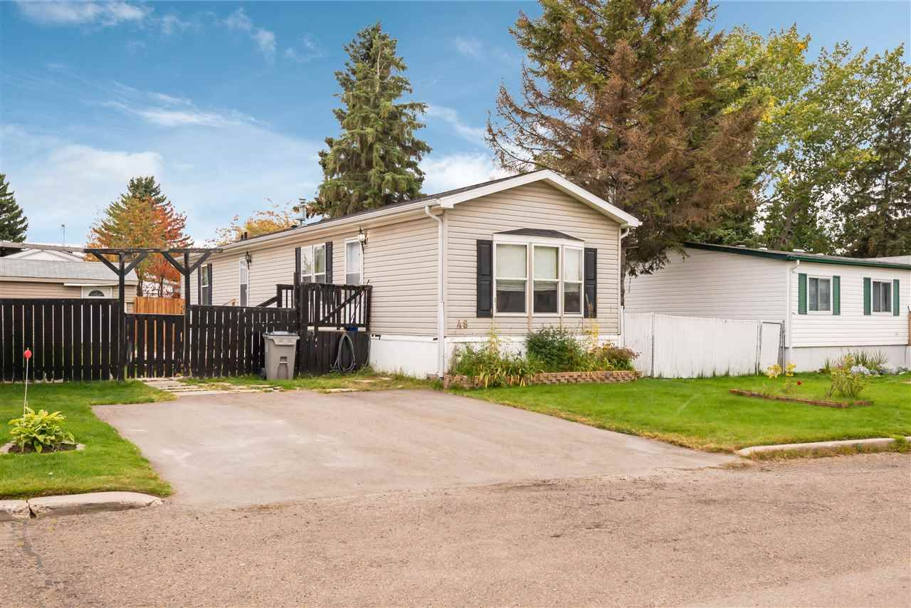 Main Photo: 48 Willow Park Estates: Leduc Mobile for sale : MLS®# E4214831