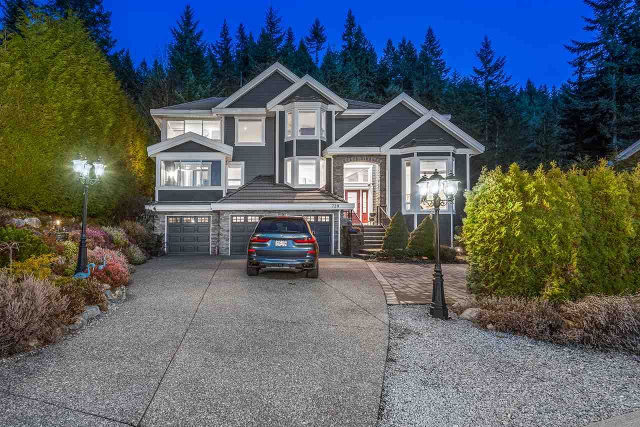 Main Photo: 759 SUNSET Ridge: Anmore House for sale (Port Moody)  : MLS®# R2553024