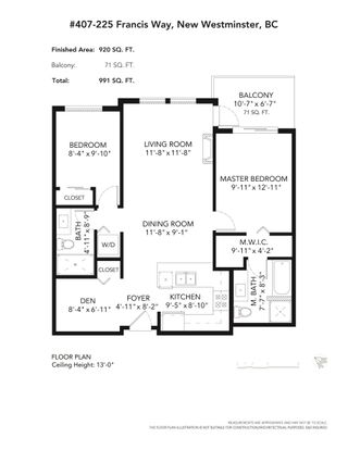 """Photo 28: 407 225 FRANCIS Way in New Westminster: Fraserview NW Condo for sale in """"THE WHITTAKER"""" : MLS®# R2621652"""