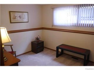 Photo 10: 14 Macalester Bay in Winnipeg: Fort Richmond Residential for sale (1K)  : MLS®# 1625516