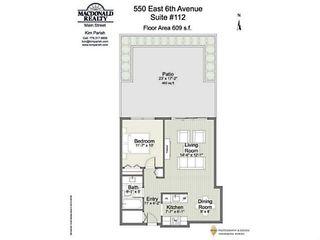 "Photo 20: 112 550 E 6TH Avenue in Vancouver: Mount Pleasant VE Condo for sale in ""Landmark Gardens"" (Vancouver East)  : MLS®# V1109766"