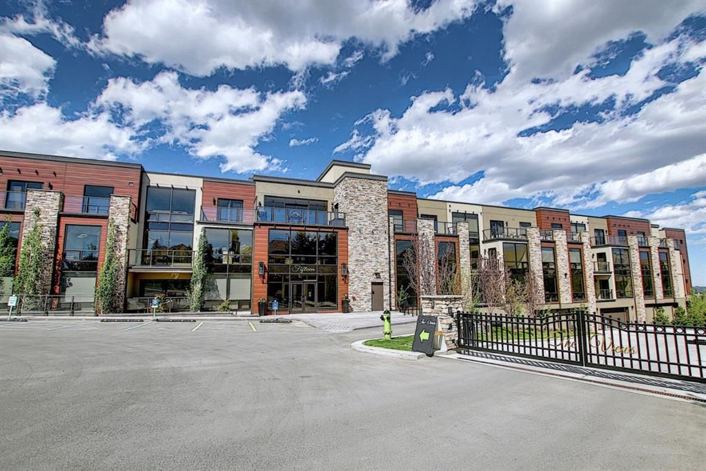 Main Photo: 303 15 Cougar Ridge Landing SW in Calgary: Patterson Apartment for sale : MLS®# A1095946