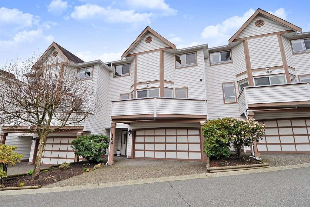 "Main Photo: 104 1232 JOHNSON Street in Coquitlam: Scott Creek Townhouse for sale in ""GREENHILL PLACE"" : MLS®# R2438974"