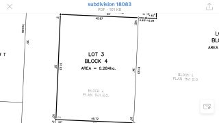 Photo 2: 5009 50 Street: Pibroch Vacant Lot for sale : MLS®# E4178805