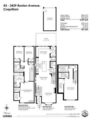 "Photo 26: 3 3439 ROXTON Avenue in Coquitlam: Burke Mountain 1/2 Duplex for sale in ""'The Roxton'"" : MLS®# R2575833"