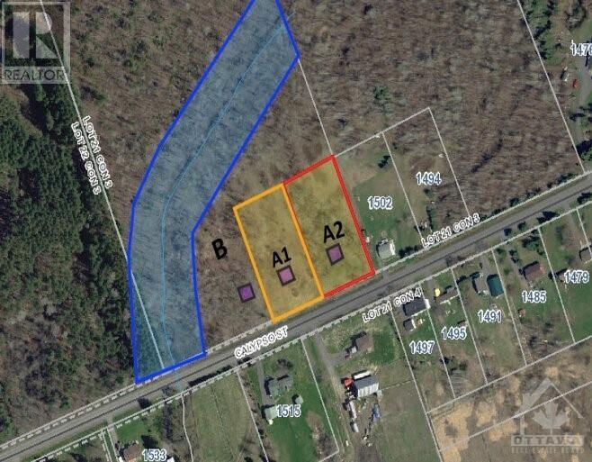 Main Photo: 1348 300 ROUTE W UNIT#A1 in Limoges: Vacant Land for sale : MLS®# 1248358