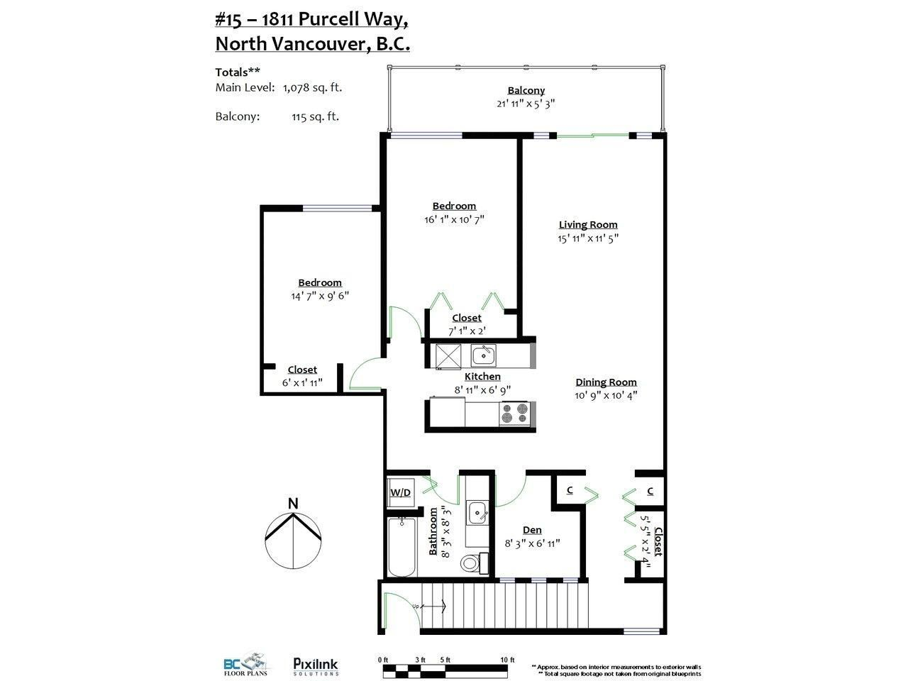 """Photo 13: Photos: 15 1811 PURCELL Way in North Vancouver: Lynnmour Condo for sale in """"LYNNMOUR SOUTH"""" : MLS®# R2276321"""