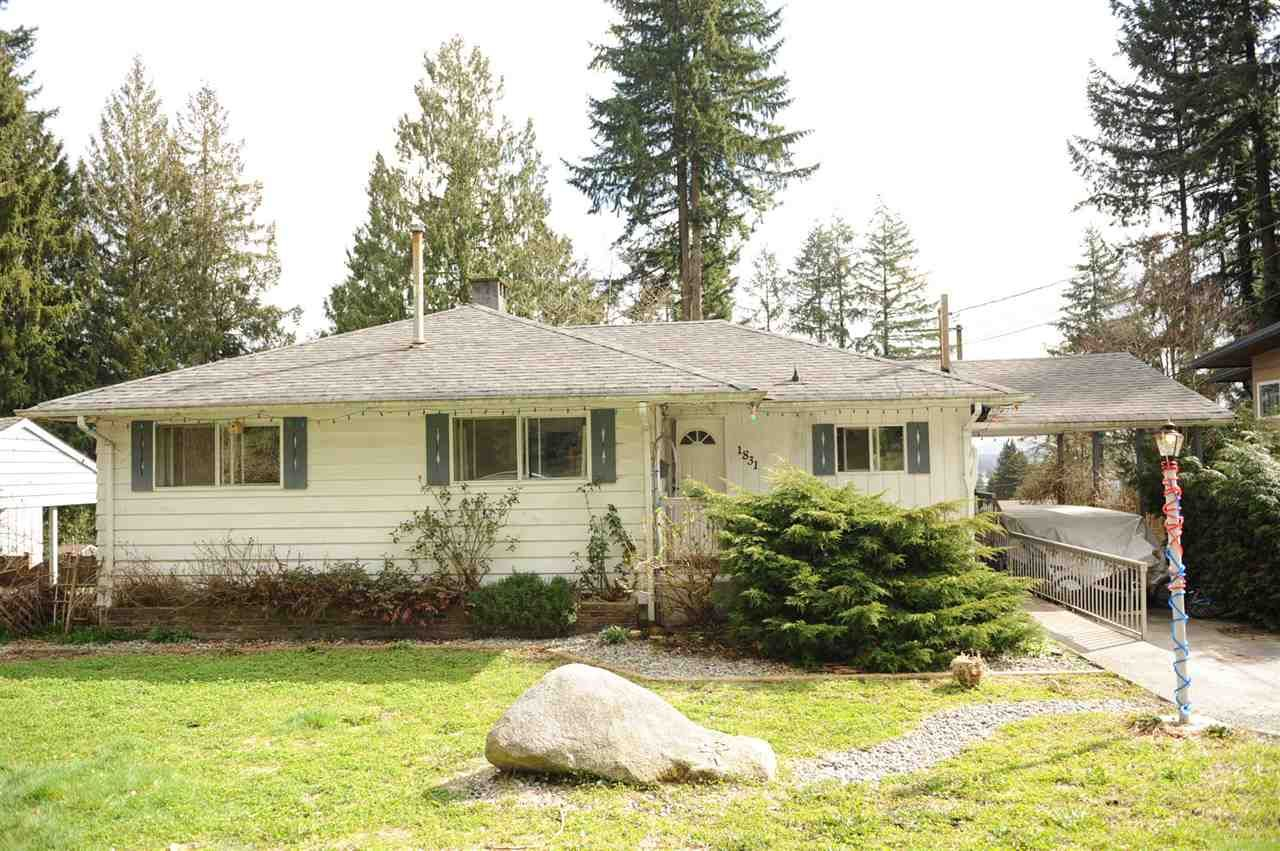 Main Photo: 1831 HUMBER CRESCENT in Port Coquitlam: Mary Hill House for sale : MLS®# R2554213