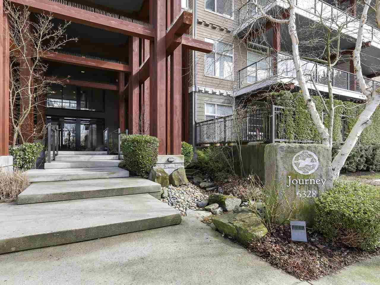 """Photo 2: Photos: 404 6328 LARKIN Drive in Vancouver: University VW Condo for sale in """"Journey"""" (Vancouver West)  : MLS®# R2146632"""