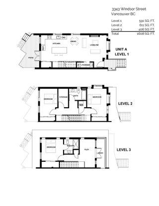 """Photo 9: 3343 WINDSOR Street in Vancouver: Fraser VE 1/2 Duplex for sale in """"3 on Windsor"""" (Vancouver East)  : MLS®# R2536751"""