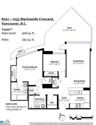 """Photo 21: 202 1033 MARINASIDE Crescent in Vancouver: Yaletown Condo for sale in """"QUATWEST"""" (Vancouver West)  : MLS®# R2600285"""