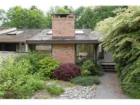 Main Photo: 5639 White Pine Lane in North Vancouver: Grouse Woods House for sale : MLS®# v1040043