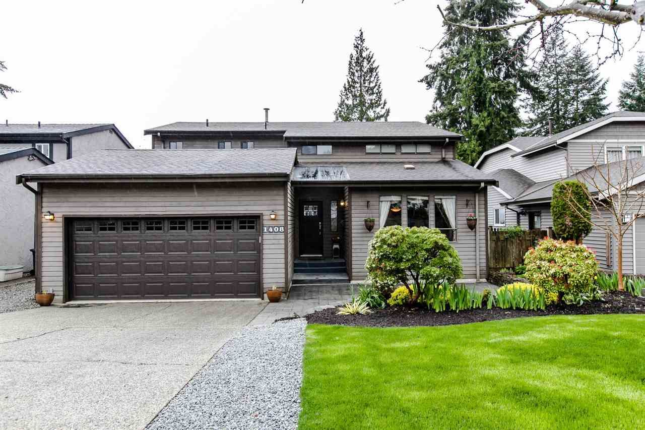 Main Photo: 1408 DOGWOOD Place in Port Moody: Mountain Meadows House for sale : MLS®# R2055682