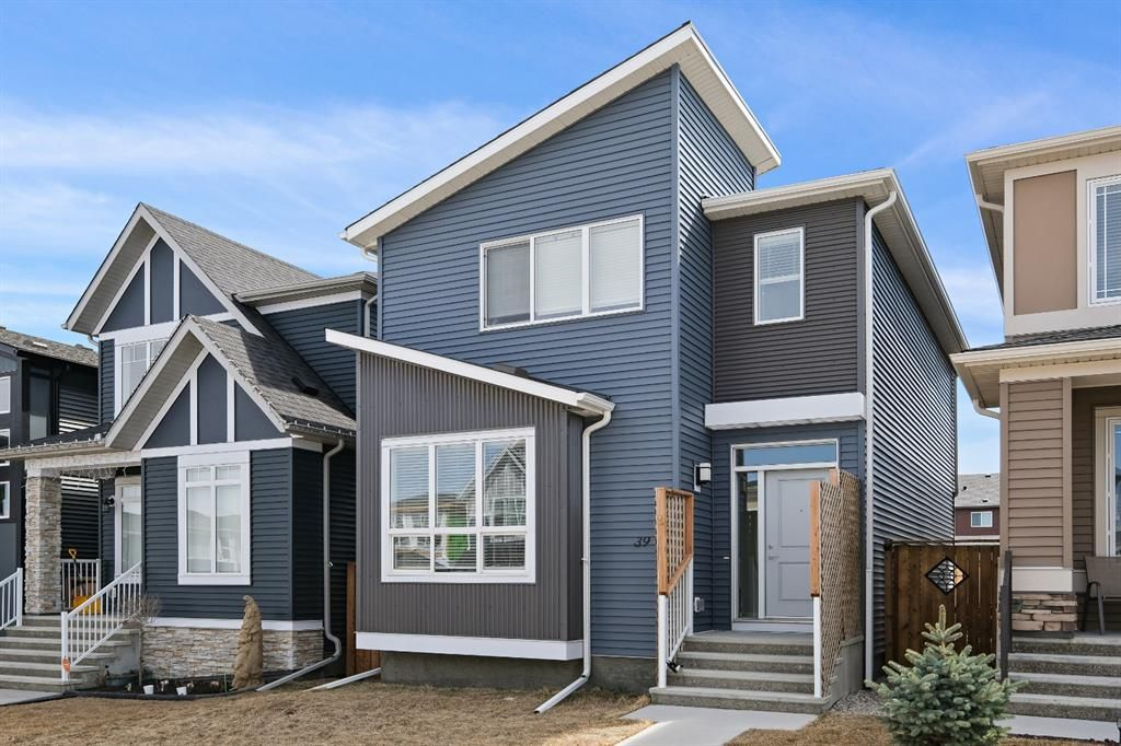 Main Photo: 39 Belmont Gardens SW in Calgary: Belmont Detached for sale : MLS®# A1101390