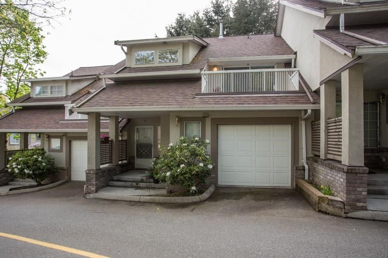 """Main Photo: 3406 AMBERLY Place in Vancouver: Champlain Heights Townhouse for sale in """"TIFFANY RIDGE"""" (Vancouver East)  : MLS®# R2574935"""
