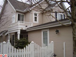 """Photo 1: 38 13499 92ND Avenue in Surrey: Queen Mary Park Surrey Townhouse for sale in """"Chatham Lane"""" : MLS®# F1100647"""
