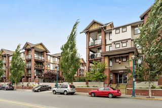 """Photo 1: 222 5650 201A Street in Langley: Langley City Condo for sale in """"Paddington Station"""" : MLS®# R2328368"""